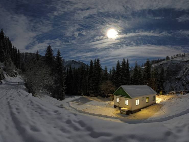 HD Winter live wallpaper android, Pc Desktop 1600p