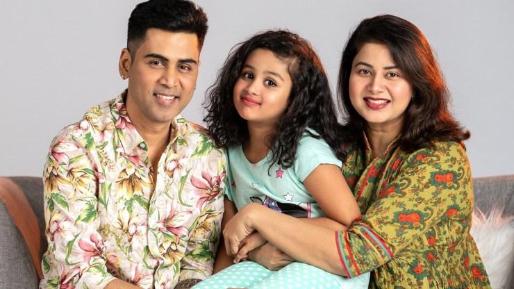 Krish and Sangeetha family