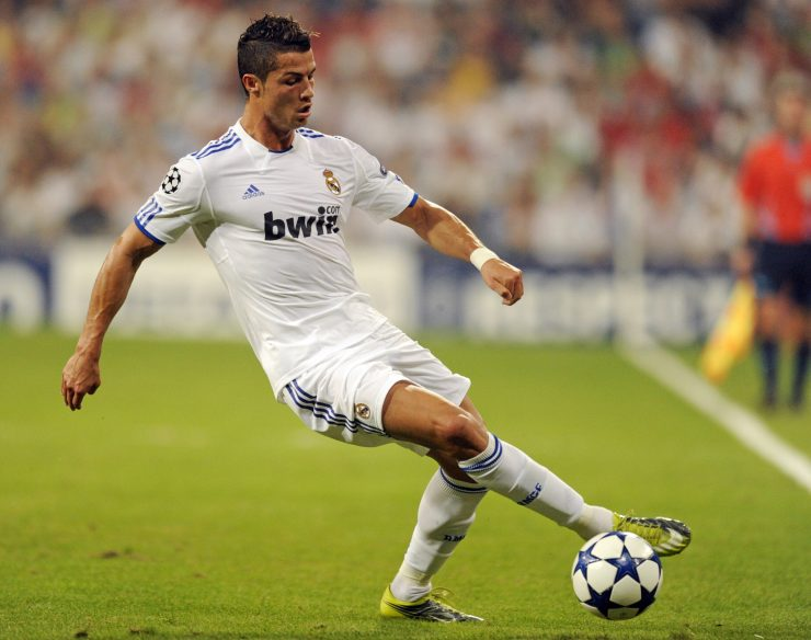 Real Madrid's Portuguese forward Cristia