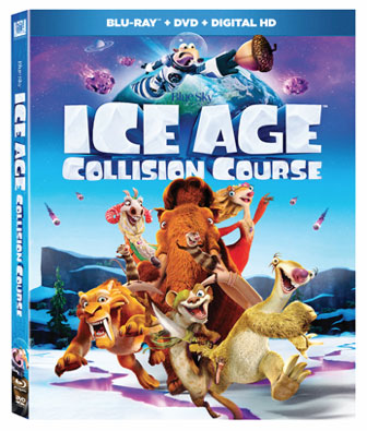Ice Age Collision Course Blu Ray Amp 4k Ultra HD Release