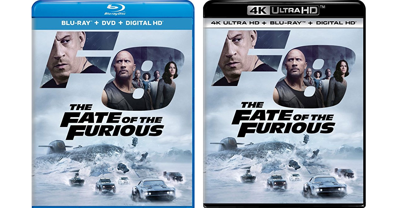 The Fate Of The Furious Blu Ray 4k Amp Digital Release