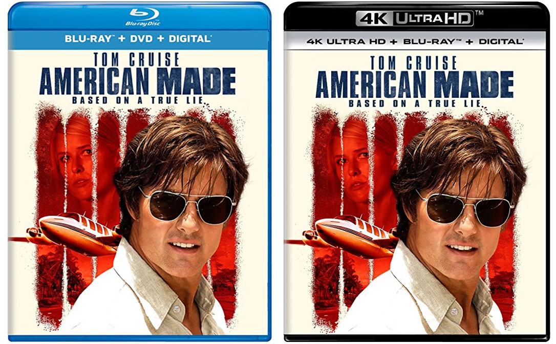 Universals American Made 4k Blu Ray Release Date