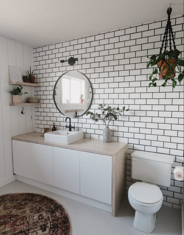 how to create a tiled accent wall