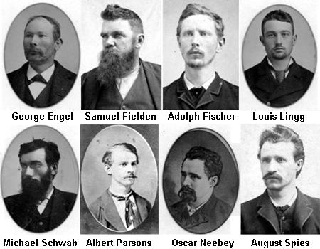 Los Mártires de Chicago – HISTORIA del #1deMayo #1M
