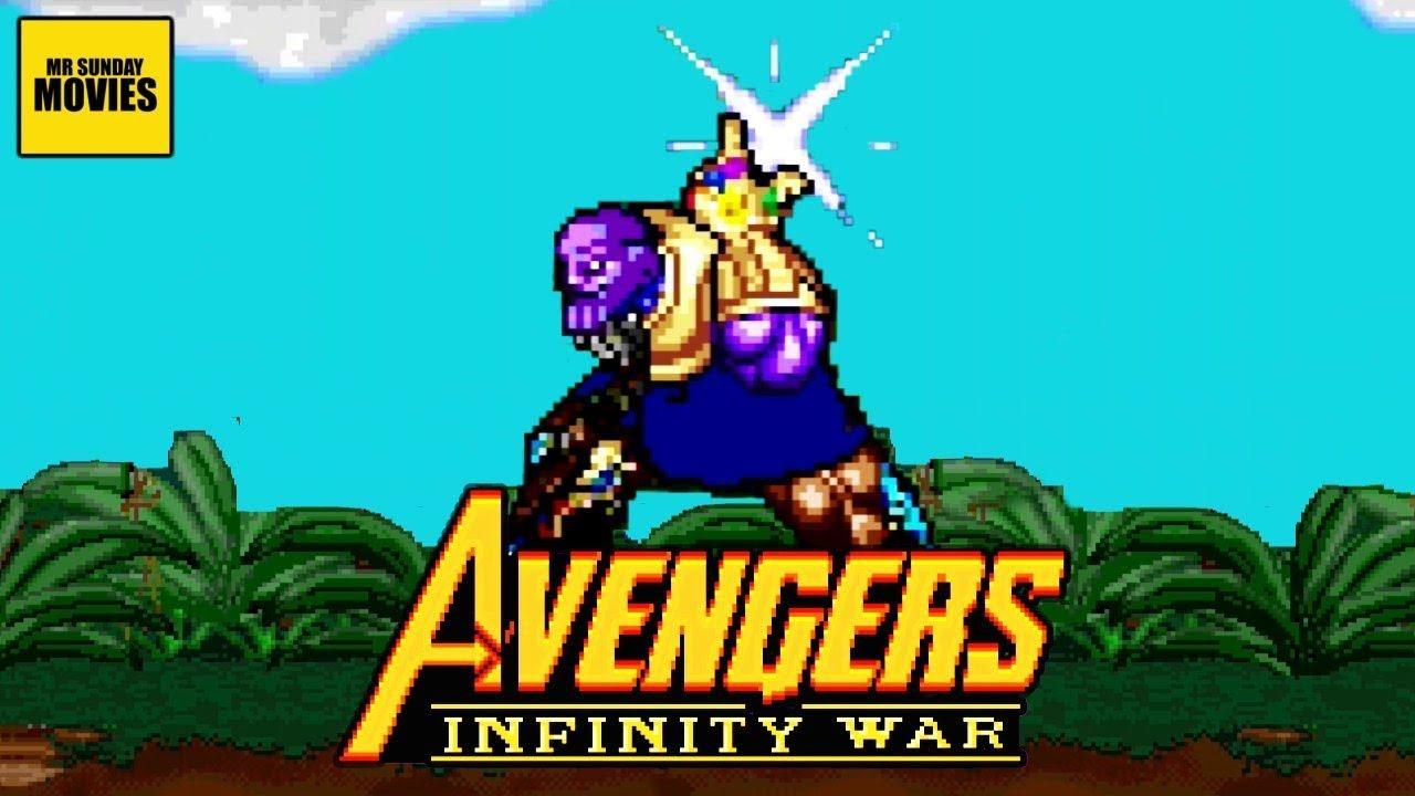 Los Vengadores, Guerra del Infinito – Escenas a 16 Bits