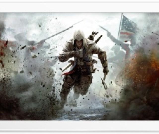 Assassins Creed 3 Connor Free Running Hd Wide Wallpaper For 4k Uhd Widescreen Desktop Smartphone