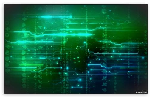 Circuit World 4K HD Desktop Wallpaper For • Wide & Ultra