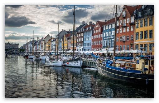 Copenhagen Denmark HD desktop wallpaper : Widescreen : High ...