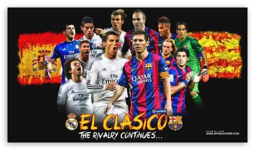 El Clasico Hd Wallpaper