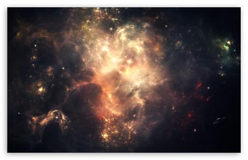 Outer Space Nebulae Ultra HD Desktop Background Wallpaper ...