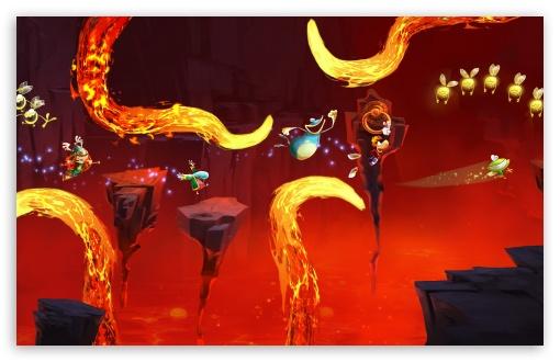 Rayman Legends Lava Chase 4K HD Desktop Wallpaper For 4K