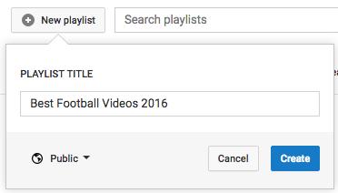 youtube playlists, youtube tips, youtube tricks, youtube hacks, youtube, how to make a youtube playlist
