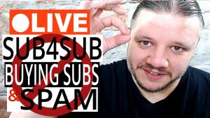 alan spicer,alanspicer,youtube tips,live stream,tips for youtubers,ama,qna,sub4sub,sub 4 sub,subs,subscribers,buying subs,buying subscribers,buying views,view bot,sub bots,subscriber bots,spamming,spamming comments,view swapping,like 4 like,share for share,sub for sub,sub4sub live stream,sub4sub stream,sub4sub app,sub4sub websites,sub4sub bot,shoutout stream,shoutout streams,things not to do on youtube,bad habits,youtube,things not to do