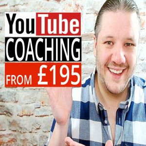 YouTube Certified Consultant & YouTube Coaching from £195