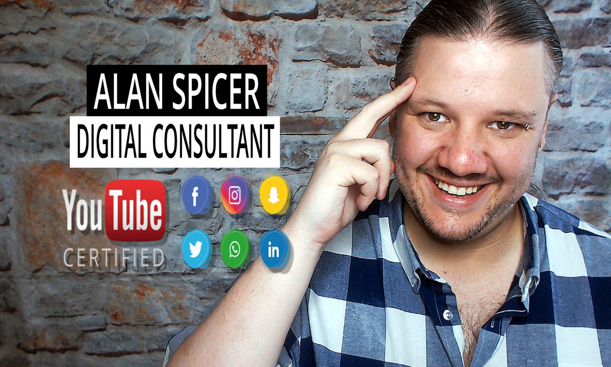 YouTube Certified Expert, Alan Spicer, YouTube Certified, YouTube Channel Growth, YouTube Asset Monetisation, YouTube Content Ownership, Social Media Expert, Social Media Consultant, Web Design