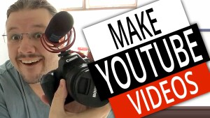 How To Make YouTube Videos - BTS