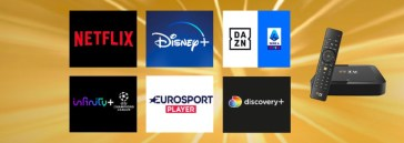 TimVision, offerta imperdibile: calcio serie A DAZN, Disney+, Netflix e Infinity in sconto