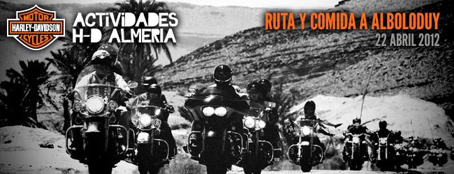 RUTA Y COMIDA A ALBOLODUY