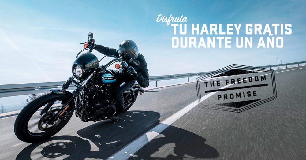 THE FREEDOM PROMISE: disfruta tu Harley gratis durante 1 año