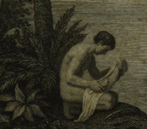 Mensageiro da província de Jaén Bracamoros (Detalhe). No livro Des Freiherrn Alexander von Humboldt und Aimé Bonpland Reise (…), Volume 4. Acervo da Brasiliana USP.