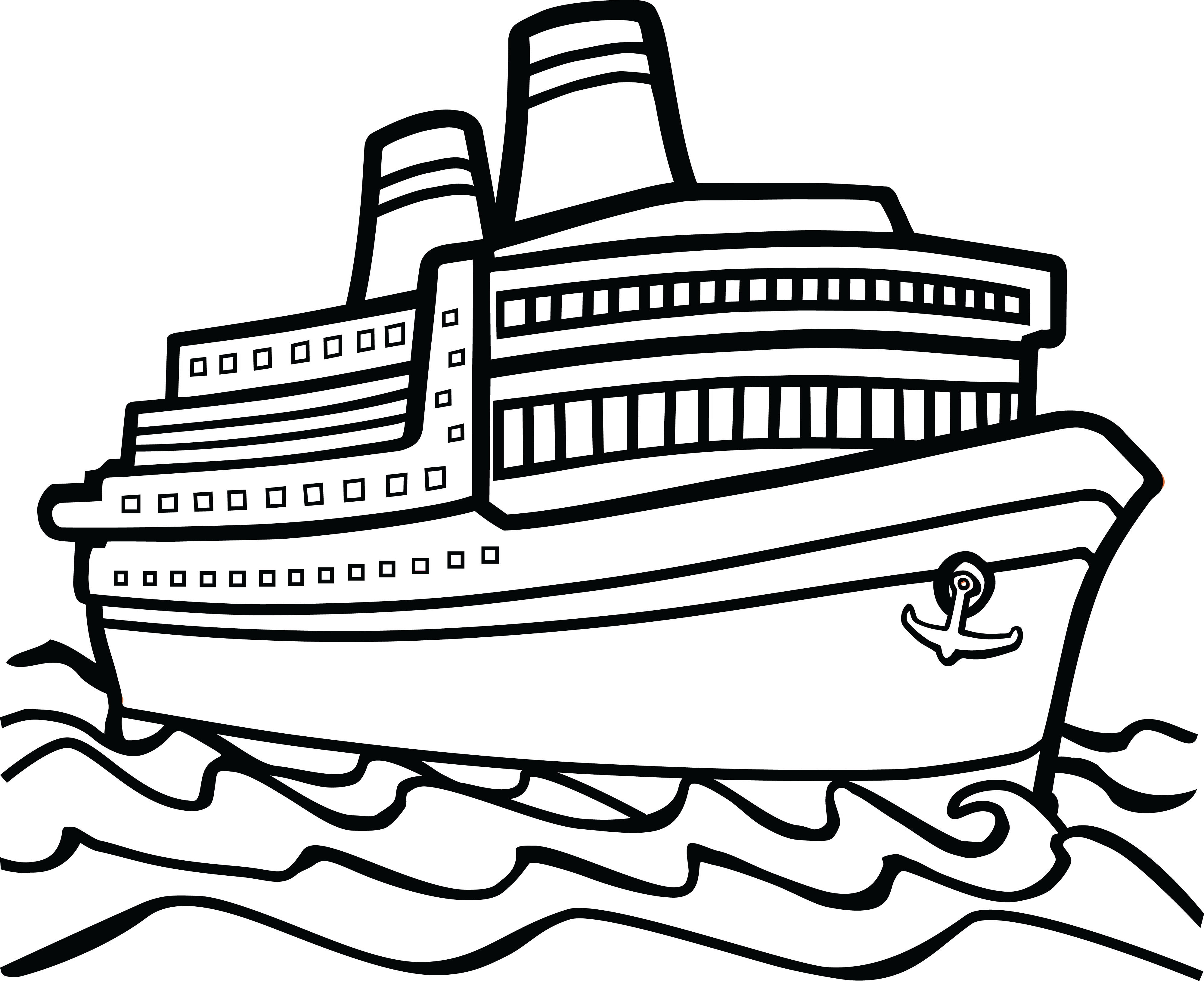 Boat Clipart Black And White Amp Boat Black And White Clip