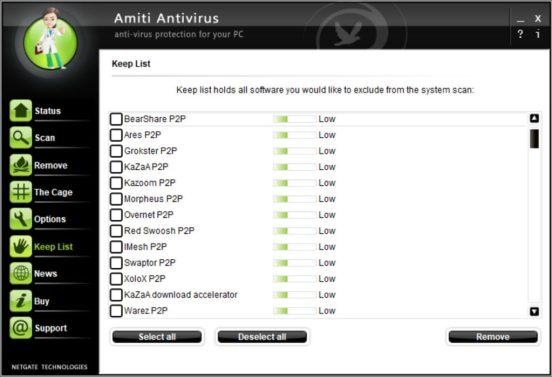 NETGATE Amiti Antivirus Full Crack