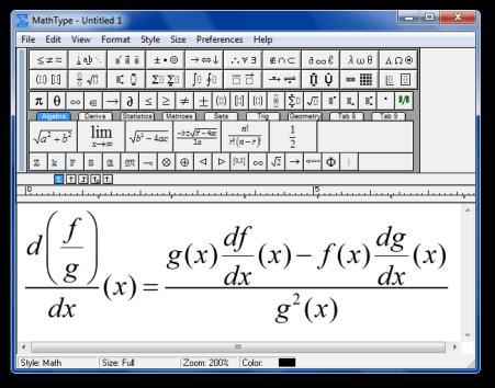 MathType Full Crack