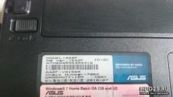 Ноутбук в разбор Asus A42F