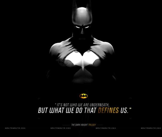 Motivational Quotes Wallpaper Batman
