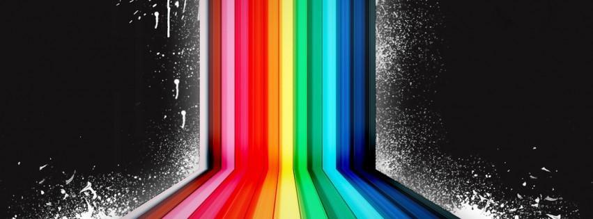 Abstract Wallpapers Hd Dark Rainbow Hd Desktop