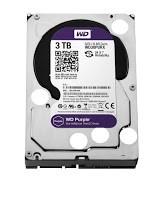 WD Purple 3TB Surveillence Hard Drive