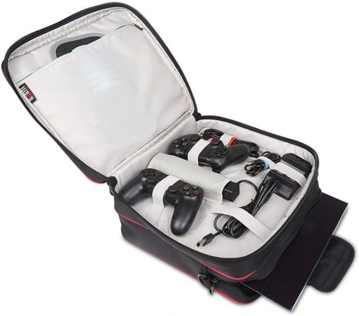 BUBM Waterproof Game System Case Shoulder Bag for PlayStation 4