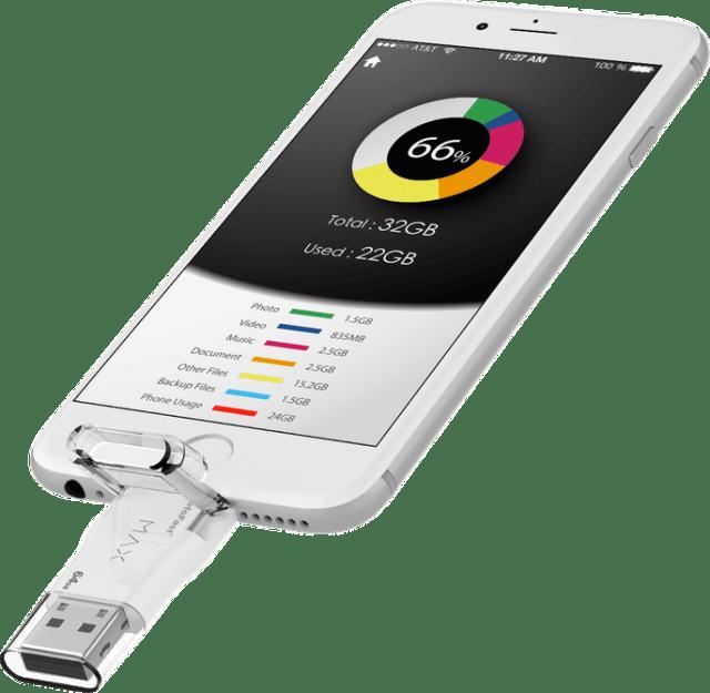Photofast on iPhone