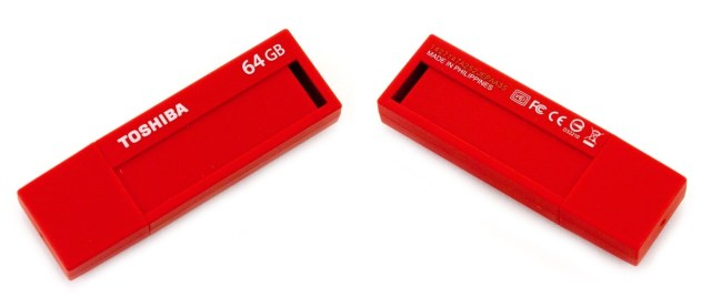 Toshiba Red flash drive