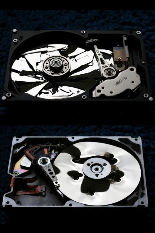 How to destroy hard drive data