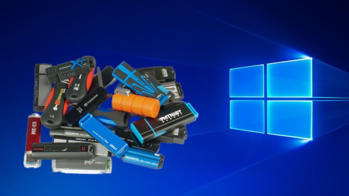 win10 flash drive