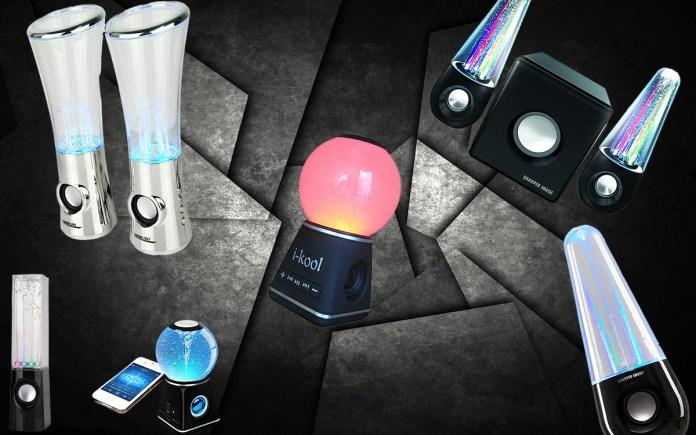 best water dancing speakers
