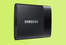 Samsung T1 portable SSD review specs benchmarks, best buy portable ssd
