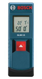 Bosch GLM 15 Laser Distance Measure