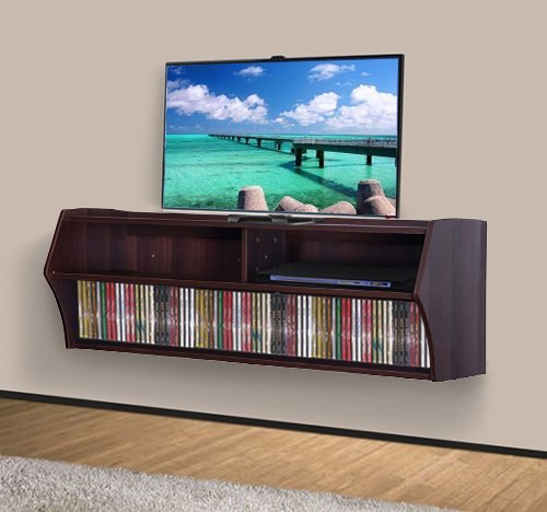 Effect Wall Mounted Floating Media Console