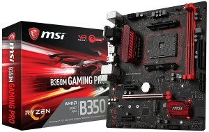 MSI Gaming AMD Ryzen B350