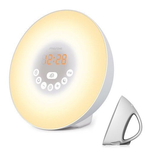 Sztook Sunrise Simulator Alarm Clock