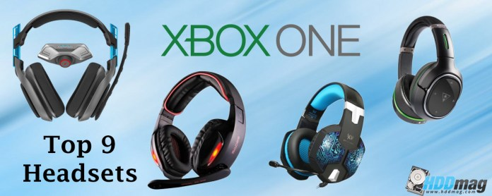 Top 9 Best Xbox One Gaming Headsets Featured