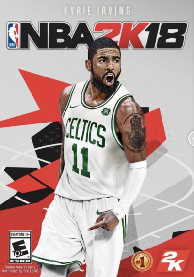 NBA 2K18 Has an Alternative Cover of Kyrie Irving in a Celtics Jersey