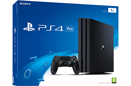 PS4 Pro packaging