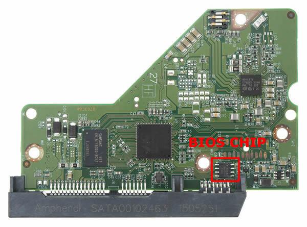 WD20EZRZ-00Z5HB0 WD PCB 2060-771945-002