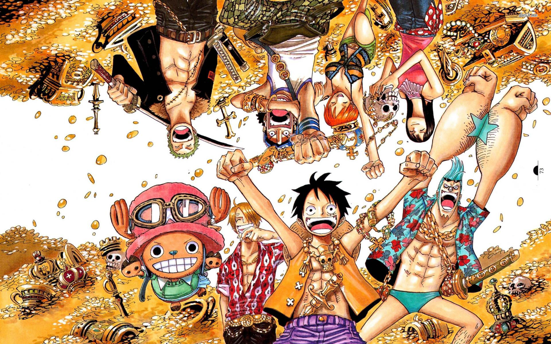 A parade of regal giraffes in pre. one-piece-anime-wallpapers-hd-free-for-desktop