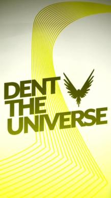 dent the universe hd lit background