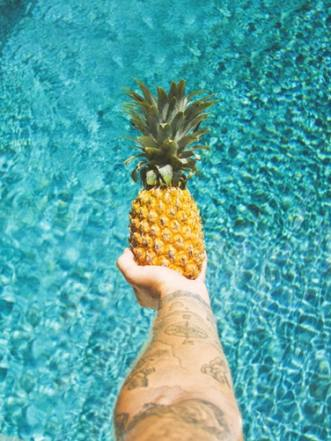 pineapple image shoot