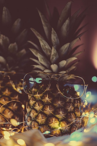 pineapple wallpapers night shoot for background